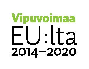 Vipuvoimaa logo. Vipuvoimaa EU:lta 2014-2020.