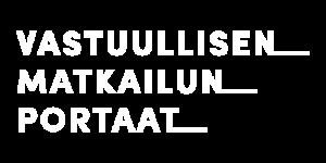 Vastuullisen Matkailun Portaat logo.
