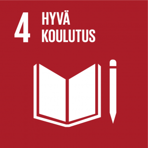 Kestävän kehityksen tavoitteet: 4 hyvä koulutus.