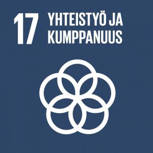 Kestävän kehityksen tavoitteet: 17 yhteistyö ja kumppanuus.